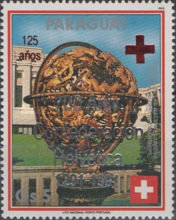 [Airmail - The 700th Anniversary of Swiss Confederation - The 125th Anniversary of Red Cross, type DXS1]