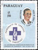[The 60th Anniversary of Paraguay Leprosy Foundation, Typ DZT]