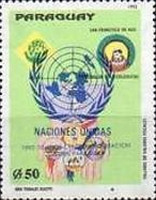 [The 30th Anniversary of United Nations Information Centre in Paraguay - Previous Issues Overprinted, Typ EAP]