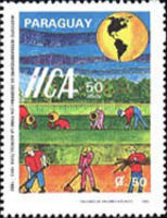 [The 50th Anniversary of Pan-American Agricultural Institute, Typ EAY]
