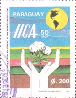 [The 50th Anniversary of Pan-American Agricultural Institute, Typ EBA]