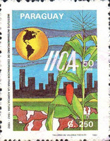 [The 50th Anniversary of Pan-American Agricultural Institute, Typ EBB]