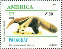 [Airmail - America - Endangered Species, Typ ECH]