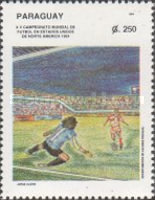 [Football World Cup - U.S.A., Typ ECX]