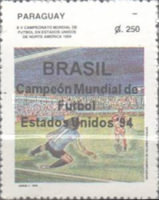 [Brazil, Winners of Football World Cup in U.S.A., Typ EDE]