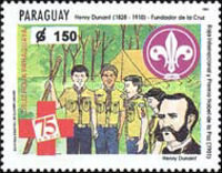 [The 75th Anniversary of Paraguay Red Cross, Typ EDY]