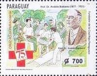 [The 75th Anniversary of Paraguay Red Cross, Typ EEA]