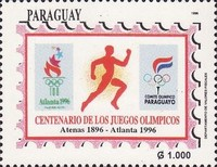 [The 100th Anniversary of Modern Olympic Games and Olympic Games, Atlanta, Typ EFG]