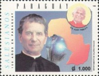 [The 100th Anniversary of Don Bosco Salesian Congregation in Paraguay, Typ EFJ]