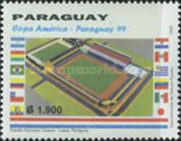 [American Cup Football Championship, Paraguay, Typ EHR]