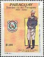 [The 95th Anniversary of Fire Service in Paraguay, type EIV]