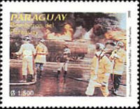 [The 95th Anniversary of Fire Service in Paraguay, Typ EIW]