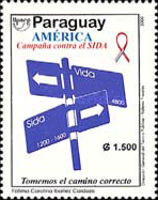 [America - Fight Against AIDS, type EJA]