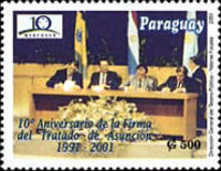 [The 10th Anniversary of Asuncion Treaty, type EJY]