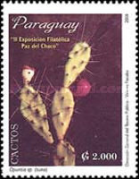 [The 2nd Bolivian-Paraguayan Stamp Exhibition, La Paz - Cacti, type EKA]