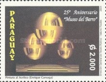 [The 25th Anniversary of Museum of Fine Arts, Asuncion, Typ ENO]
