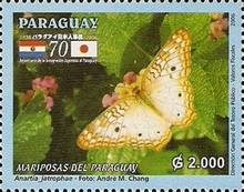 [The 70th Anniversary of Japanese Immigrants in Paraguay - Butterflies, Typ EPW]