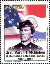 [The 100th Anniversaary of the Death of Martin McMahon, 1838-1906, Typ ERG]