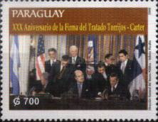 [The 30th Anniversary (2007) of the Torrijos-Carter Panama Canal Treaty, Typ ESD]
