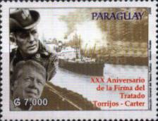 [The 30th Anniversary (2007) of the Torrijos-Carter Panama Canal Treaty, Typ ESE]