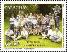 [The 70th Anniversary of Boy Scouts Association in Paraguay, Typ ESI]