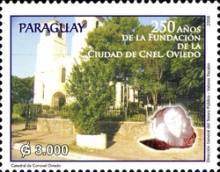 [The 250th Anniversary of the City of Coronel Ociede, Typ ESJ]