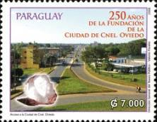 [The 250th Anniversary of the City of Coronel Ociede, Typ ESK]