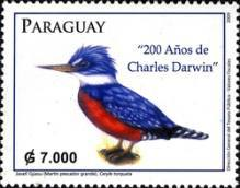 [The 200th Anniversary (2009) of the Birth of Charles Darwin, 1809-1882, Typ ETD]