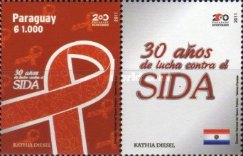 [The 30th Anniversary of the Struggle against AIDS, Typ EUL]