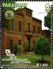 [The 75th Anniversary of the Paraguayan Academy of History, Typ EVZ]