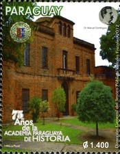 [The 75th Anniversary of the Paraguayan Academy of History, Typ EWA]