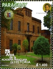 [The 75th Anniversary of the Paraguayan Academy of History, Typ EWB]