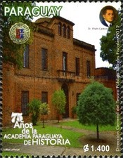 [The 75th Anniversary of the Paraguayan Academy of History, Typ EWC]