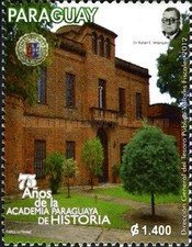 [The 75th Anniversary of the Paraguayan Academy of History, Typ EWD]