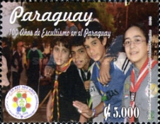 [The 100th Anniversary of Scouting in Paraguay, Typ EXV]