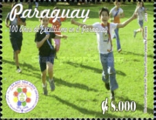 [The 100th Anniversary of Scouting in Paraguay, Typ EXW]
