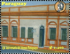 [The 130th Anniversary of the Paraguayan Athenaeum, Typ EYP]