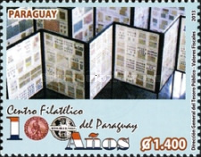 [The 100th Anniversary of the Philatelic Centre in Paraguay, Typ EYQ]
