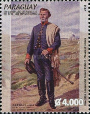 [The 250th Anniversary of the Birth of General José Gervasio Artigas, 1764-1850, Typ EZG]