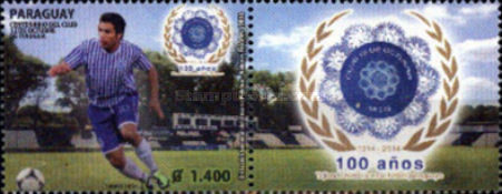 [The 100th Anniversary of Itaugua Football Club, Typ EZH]