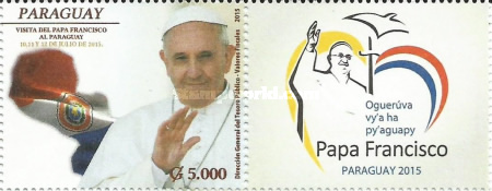 [Pope Francis Visits Paraguay, Typ FEL]