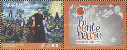 [The 200th Anniversary of the Birth of Saint John Bosco, 1815-1888, type FEN]