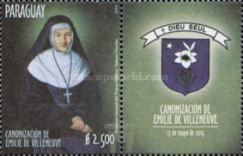 [Canonization of Émilie de Villeneuve, 1811-1854, type FFD]