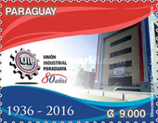 [The 80th Anniversary of the UIP -  Industrial Union of Paraguay, type FGA]