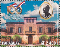 [The 100th Anniversary of the Scientific Society of Paraguay, type FKX]