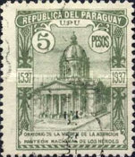 [The 400th Anniversary of Church of La Asuncion de la Virgen, Typ HT]