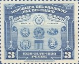 [Airmail - The 1st Anniversary of Chaco Boundary Peace Conference, Buenos Aires, Typ HY1]