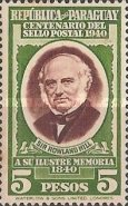 [The 100th Anniversary of First Adhesive Postage Stamps, Typ IV]