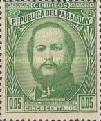 [The 120th Anniversary of the Birth of Marshal Francisco S. Lopez, 1827-1870, type MB2]