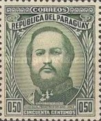 [The 120th Anniversary of the Birth of Marshal Francisco S. Lopez, 1827-1870, type MB4]